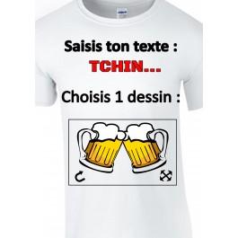 t-shirt homme personnalisé Design d'Oc