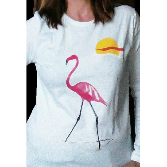 89c00f1157485 t-shirt femme manches longues flament collection Design d Oc