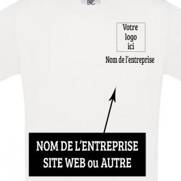 t-shirt homme avec logo Côté Design d'Oc