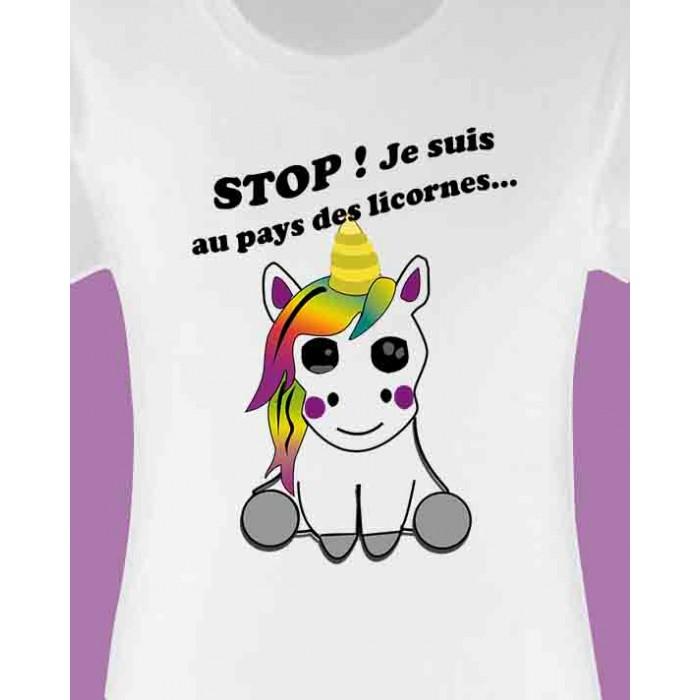 Design T Licorne Femme D'oc Shirt nw8NOm0v